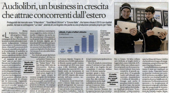 Audiolibri, un business in crescita che attrae concorrenti dall'estero
