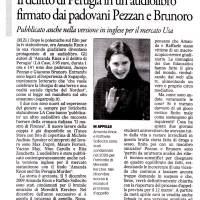 Il delitto di Perugia in un audiolibro firmato dai padovani Pezzan e Brunoro