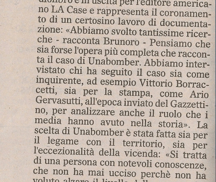 Unabomber: Terrore a Nord Est
