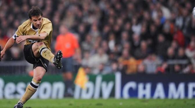 Juventus – Real Madrid. Eravamo io, Del Piero, Hugo Sanchez, Valdano, Platini, Cabrini, Butragueno, Raul, Vialli…