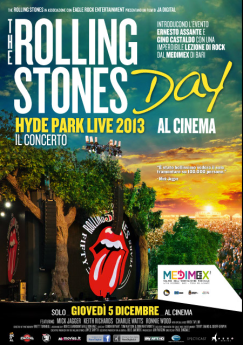 The Rolling Stones Day: Sweet Summer Sun – Hyde Park 2013 Live nei cinema Italiani!