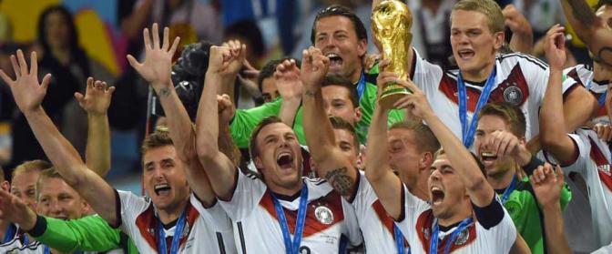 Brasile 2014: la Germania è Campione del Mondo