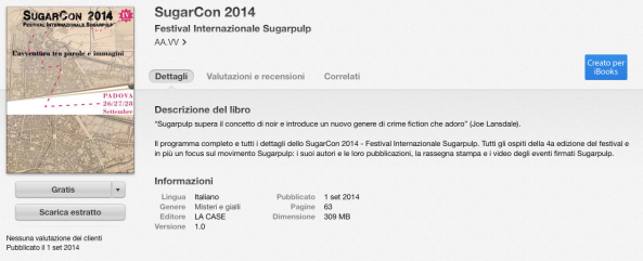 SugarCon 2014 scarica l'ebook gratuito su iBooks Store