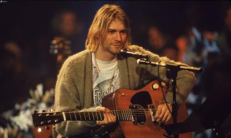 10 chitarristi famosi che non sono capaci di suonare la chitarra - Kurt Cobain