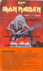 10 concerti memorabili degli Iron Maiden - Bologna 1993