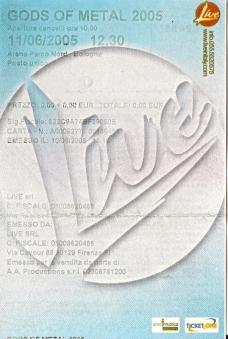 10 concerti memorabili degli Iron Maiden - Bologna 2005