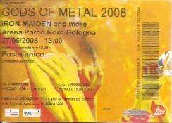10 concerti memorabili degli Iron Maiden - Bologna 2008