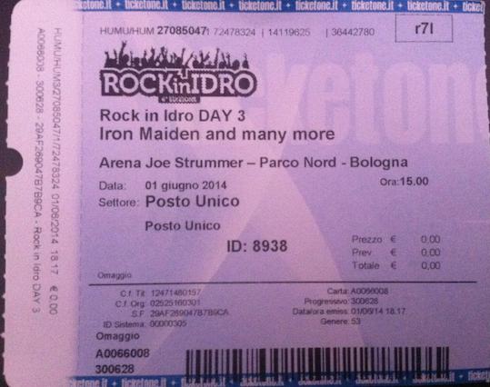 10 concerti memorabili degli Iron Maiden - Bologna 2014