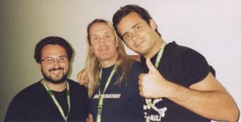 10 concerti memorabili degli Iron Maiden - Heineken Jammin Festival 2004 - Nicko Mc Brain