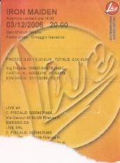 10 concerti memorabili degli Iron Maiden - Milano 2006