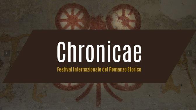 Chronicae 2019, la festa del Romanzo Storico