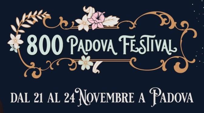 Nuova edizione per l'800 Padova Festival
